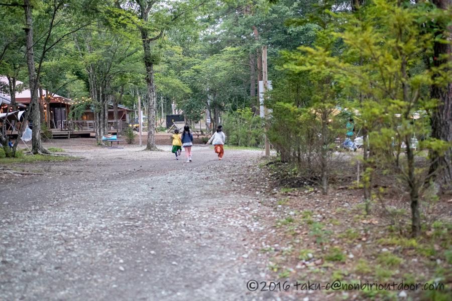 ライジングフィールド軽井沢で遊ぶ