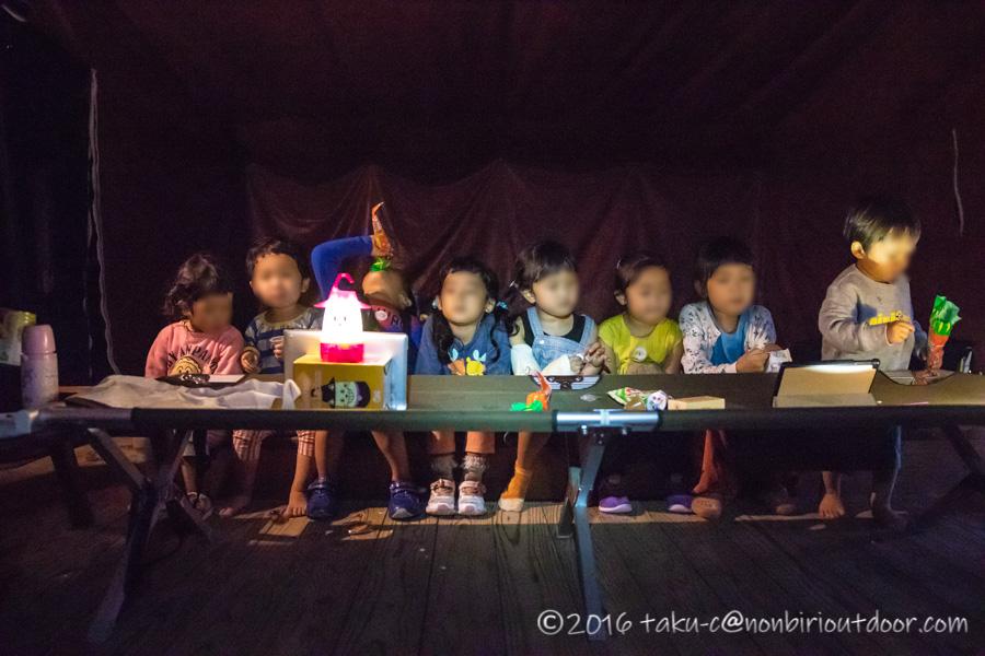 ライジングフィールド軽井沢のタタンカプレミアムで子どもたちが遊ぶ