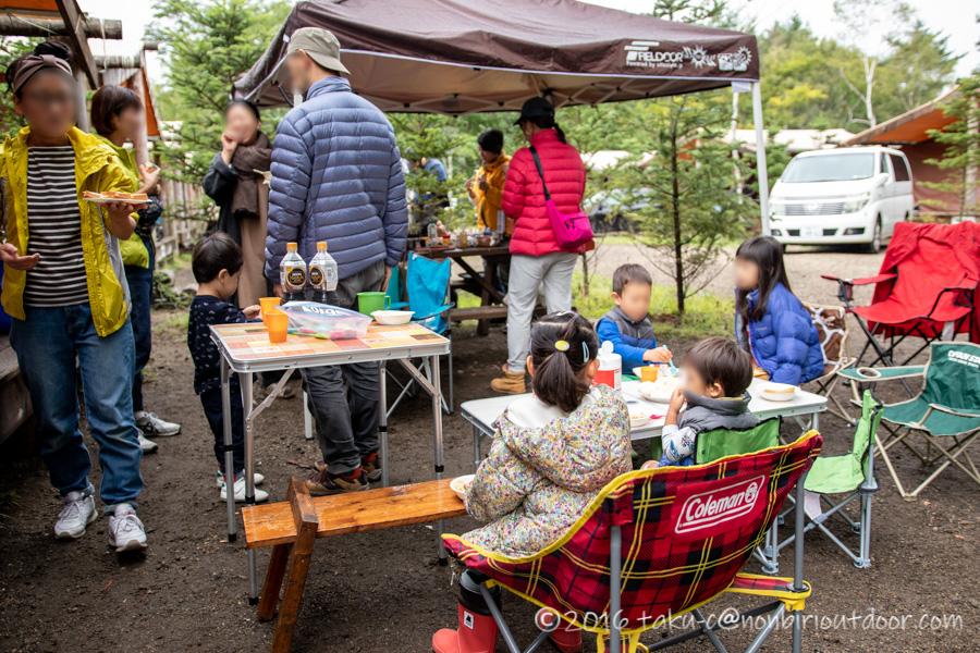 ライジングフィールド軽井沢の朝ご飯