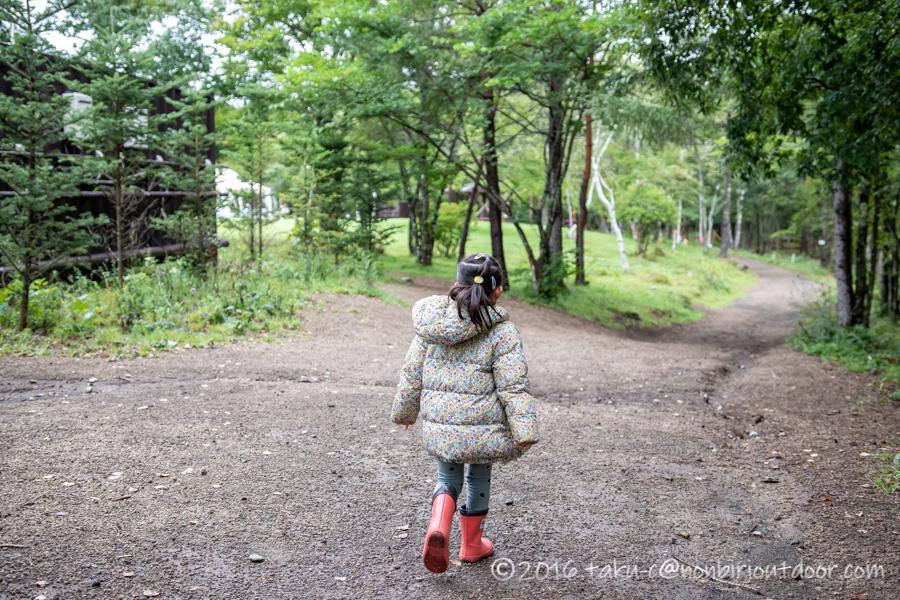 ライジングフィールド軽井沢の遊具で遊びに行く