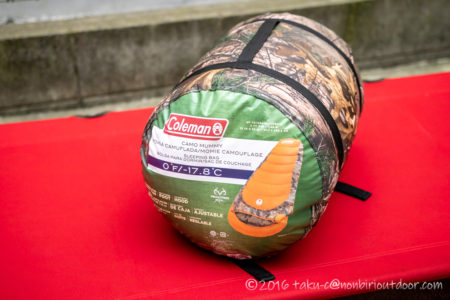 コストコ寝袋!コールマンRealtree Xtra Camo MUMMY SLEEPING BAG!