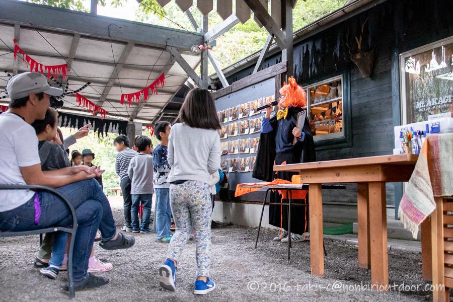 赤城オートキャンプ場のハロウィン仮装コンテストの結果発表