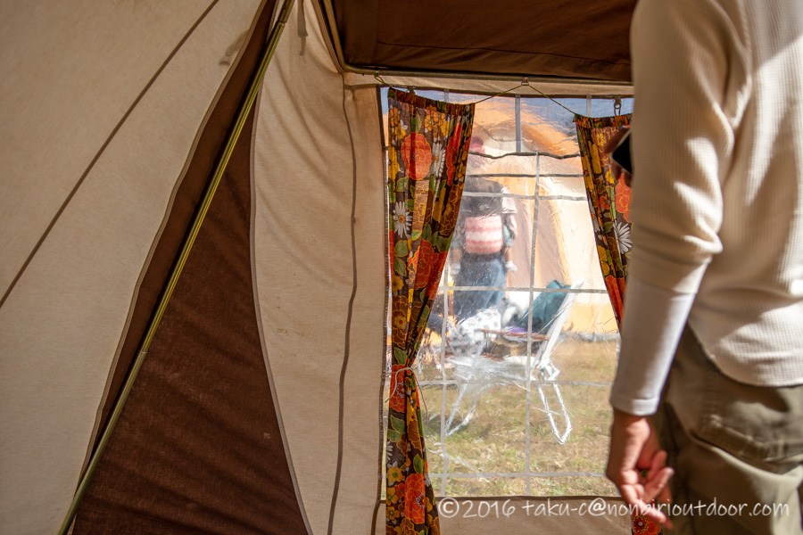 ひなこさんのCABANONのテント