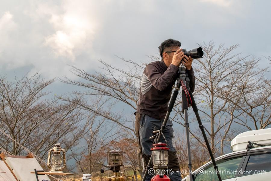 富士山YMCAで行われた第2回ナチュログ写真部合同合宿のへりさん