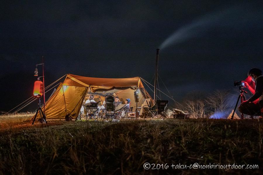 富士山YMCAで行われた第2回ナチュログ写真部合同合宿の夜の風景