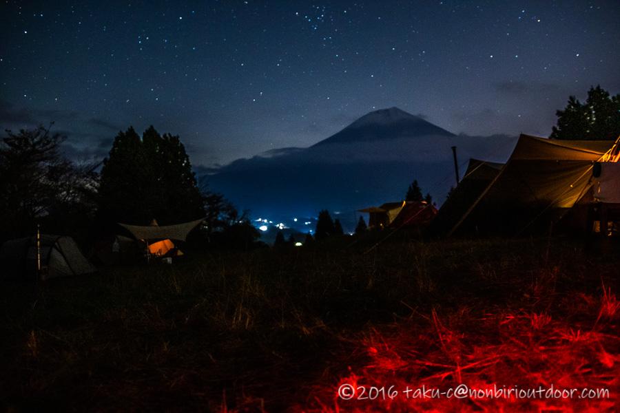 富士山YMCAで行われた第2回ナチュログ写真部合同合宿の夜の部活の撮り始め
