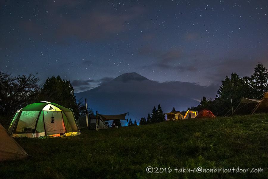 富士山YMCAで行われた第2回ナチュログ写真部合同合宿の夜の部活成果