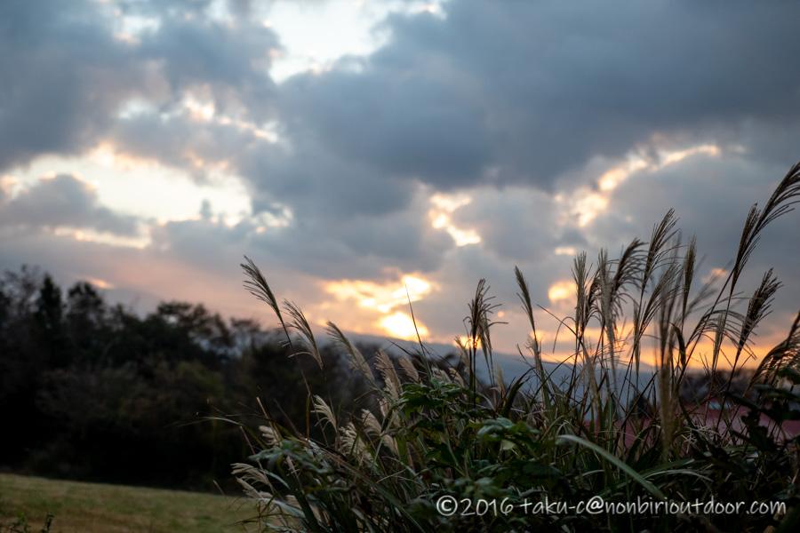 富士山YMCAで日の出が綺麗だった