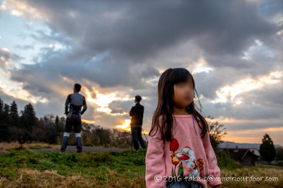 富士山YMCAで日の出と娘ちゃん