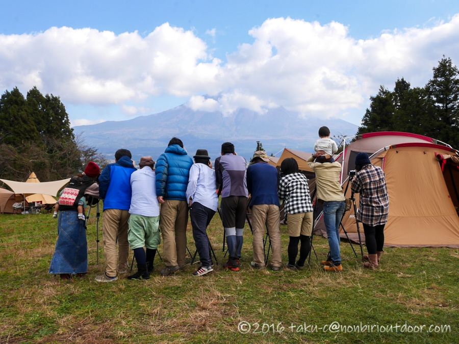 富士山YMCAで行われた第2回ナチュログ写真部合同合宿の集合写真