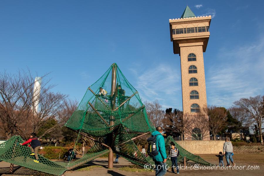麻溝公園の遊具