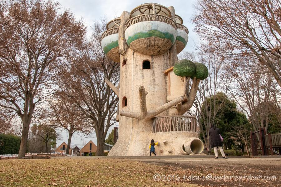 県立相模原公園の遊具