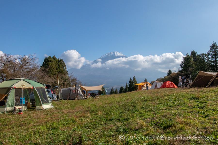 富士山YMCAで行われた第2回ナチュログ写真部合同合宿の朝の風景