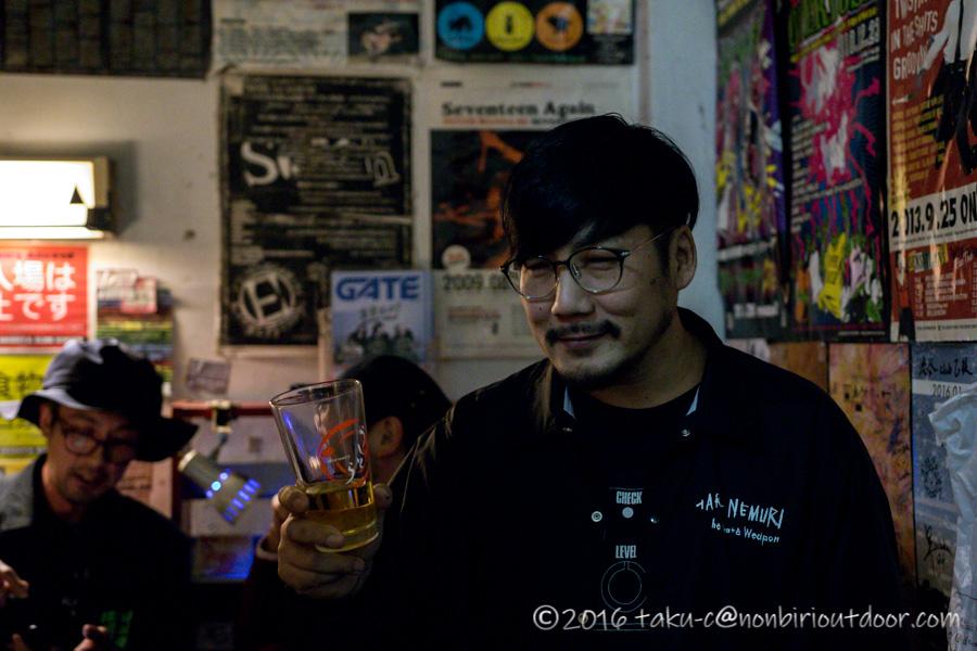 渋谷のライブハウス乙の店長じゃいさん