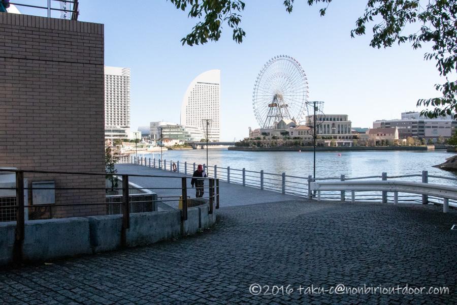 第37回横浜縦断カヌーフェスティバルのスタート地点