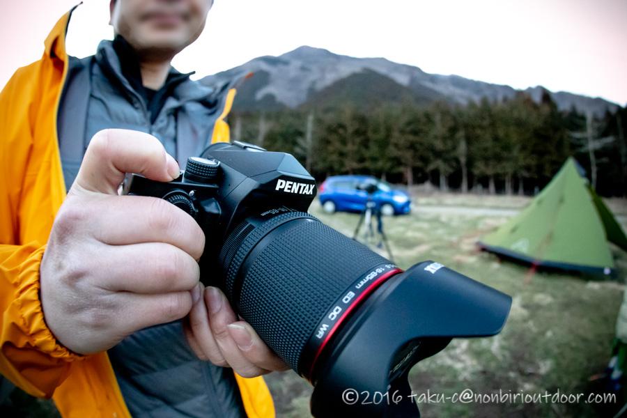 ナチュログ写真部部員のカメラPENTAX KP