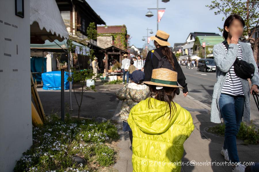 2019年春の益子陶器市の風景