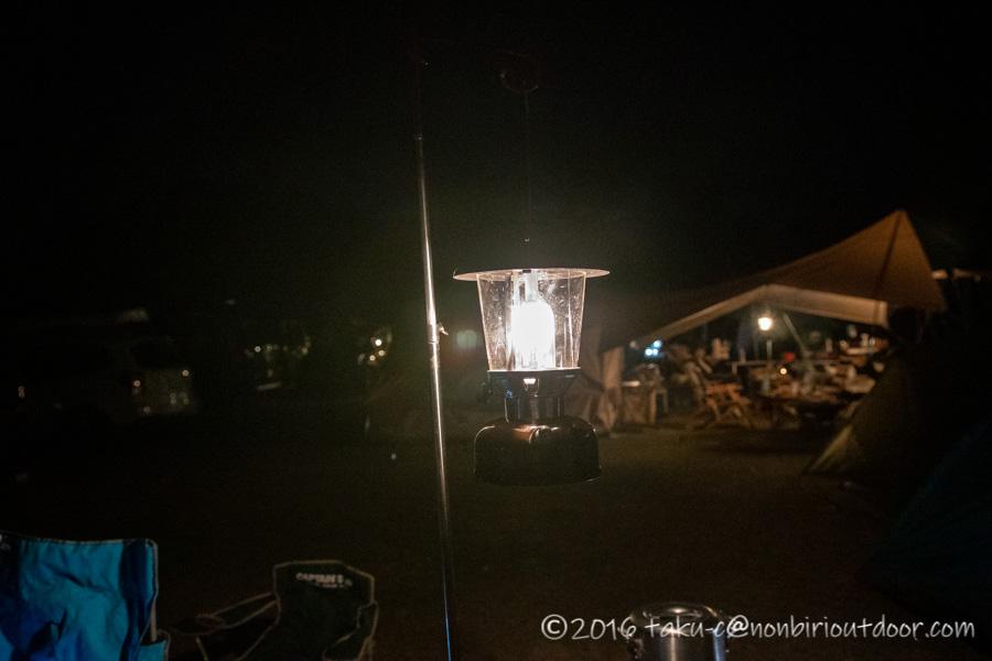 鷲の巣キャンプ場で設営したColeman 275