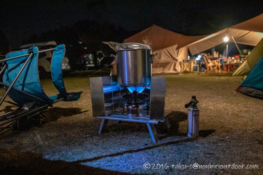 鷲の巣キャンプ場で設営したColeman SPEED MASTER 500