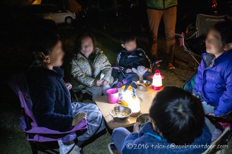 鷲の巣キャンプ場で子どもたちのすべらない話