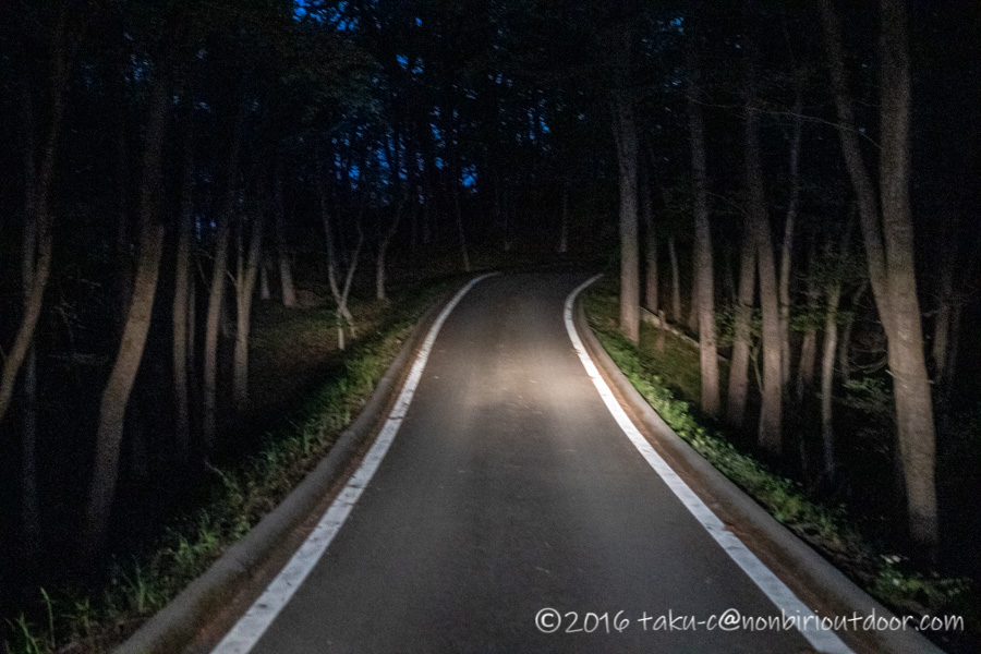 鷲の巣キャンプ場から茂木町の鎌倉山展望台へ朝一で向かう