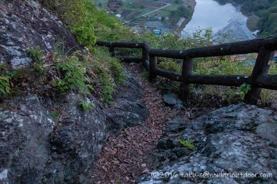 茂木町の鎌倉山展望台の景色