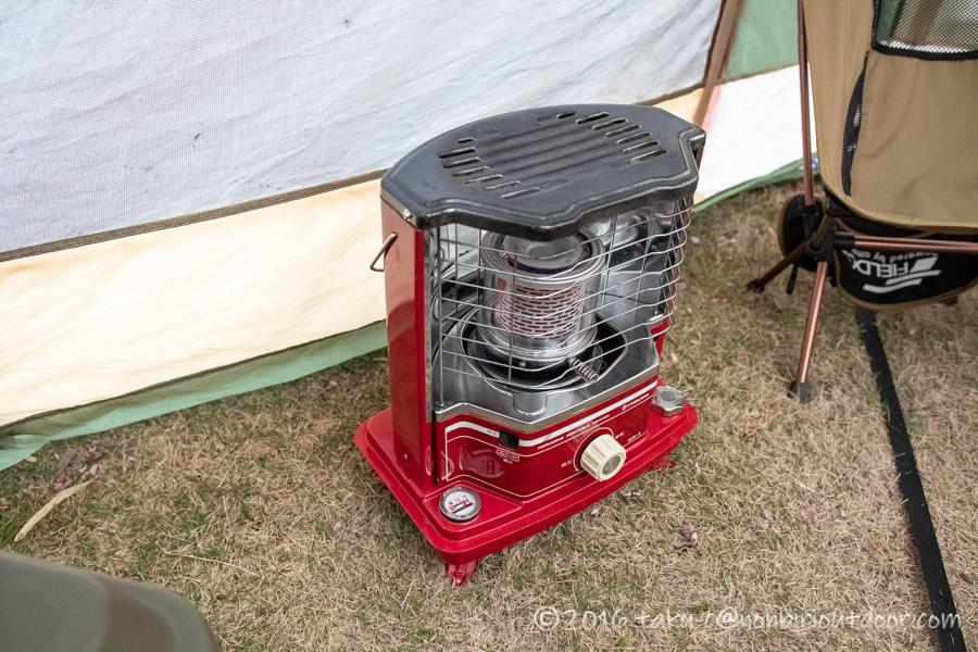鷲の巣キャンプ場で使用したコロナSR-1A