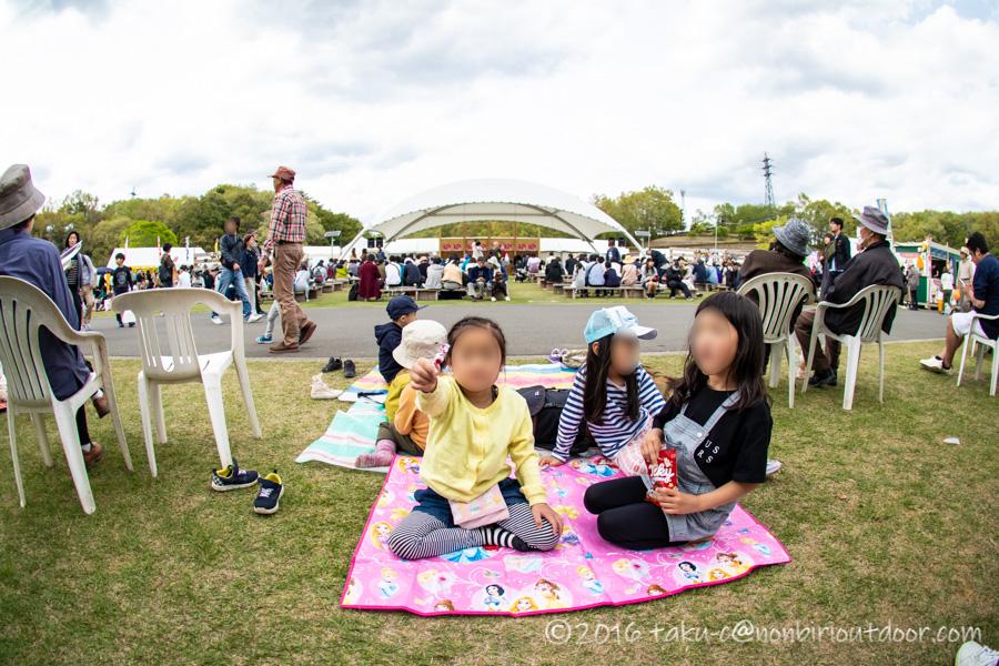2019年の笠間の陶炎祭(ひまつり)の会場