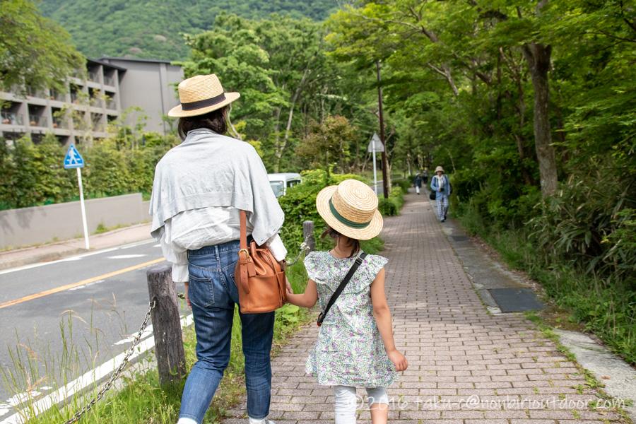 箱根の芦ノ湖周辺を散策