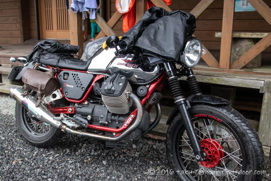 ときがわ町の星と緑の創造センターにバイクで来る
