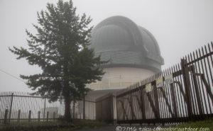 ときがわ町の星と緑の創造センターにある堂平天文台の観測ドーム