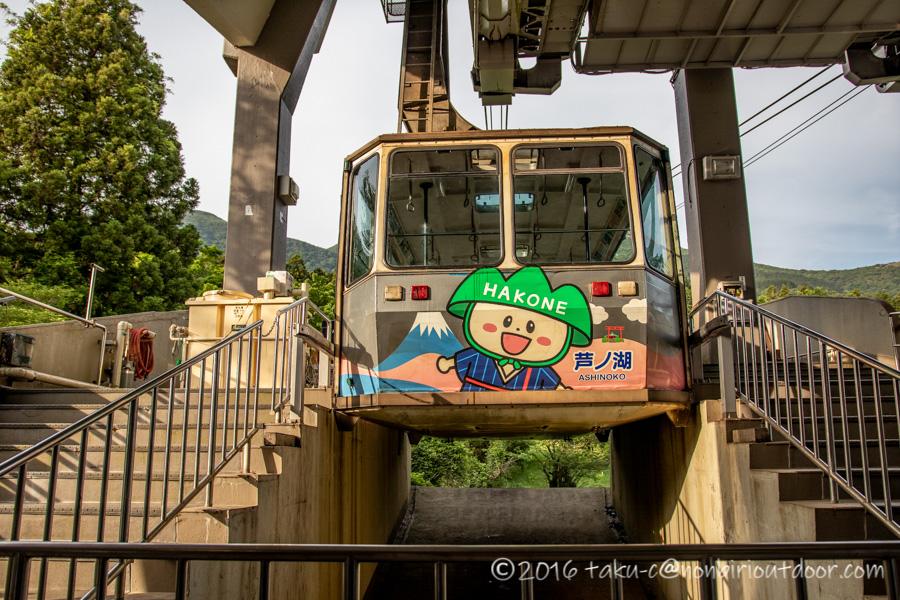 箱根の駒ヶ岳ロープウェイ