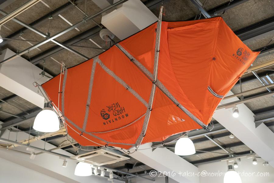 モリパーク アウトドアヴィレッジで見たMountain hardwearのテント