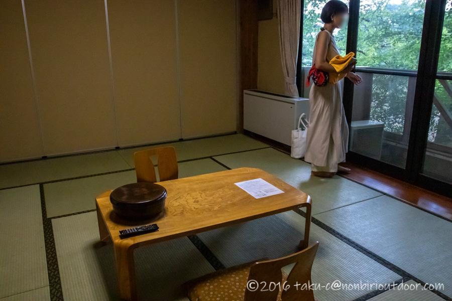 宮田村にある早太郎温泉郷のこまゆき荘の客室