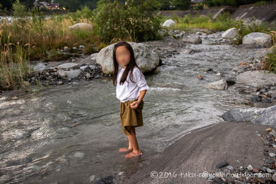 こもれ陽の径から太田切川で水遊び