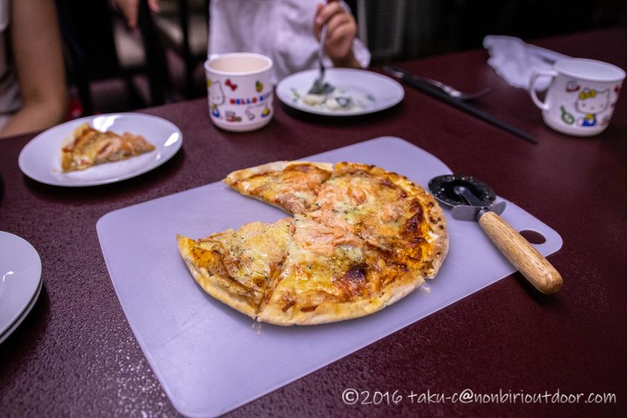 こまゆき荘の夕飯のイタリアン