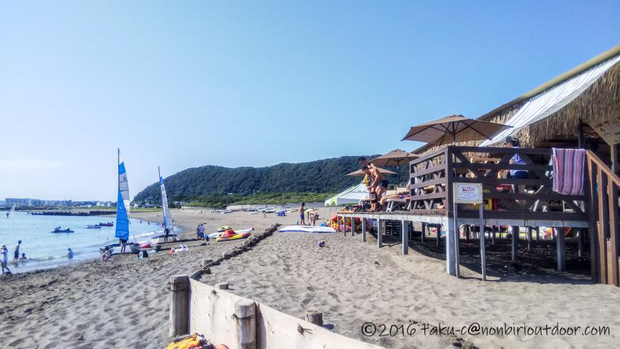 葉山の大浜海岸でSUPをやってきました