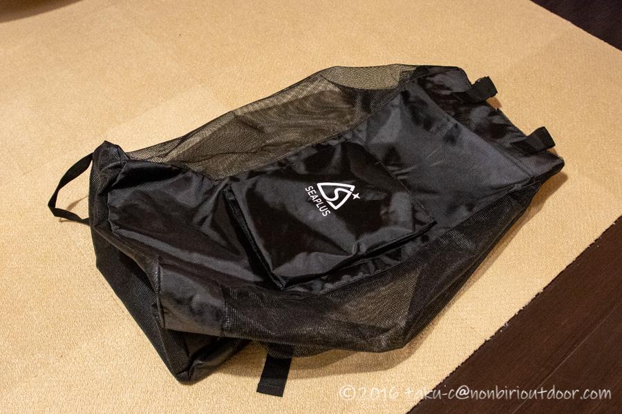 Amazon激安SUPのSEAPLUの収納バッグ