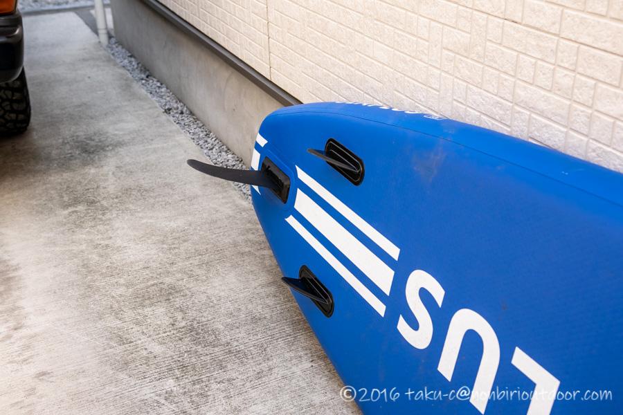 Amazon激安SUPのSEAPLUSのフィン
