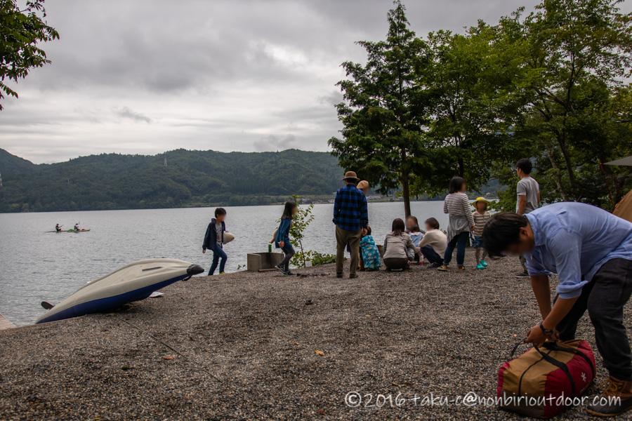青木湖にカヤック・SUPグルキャンの集まったナチュログ写真部