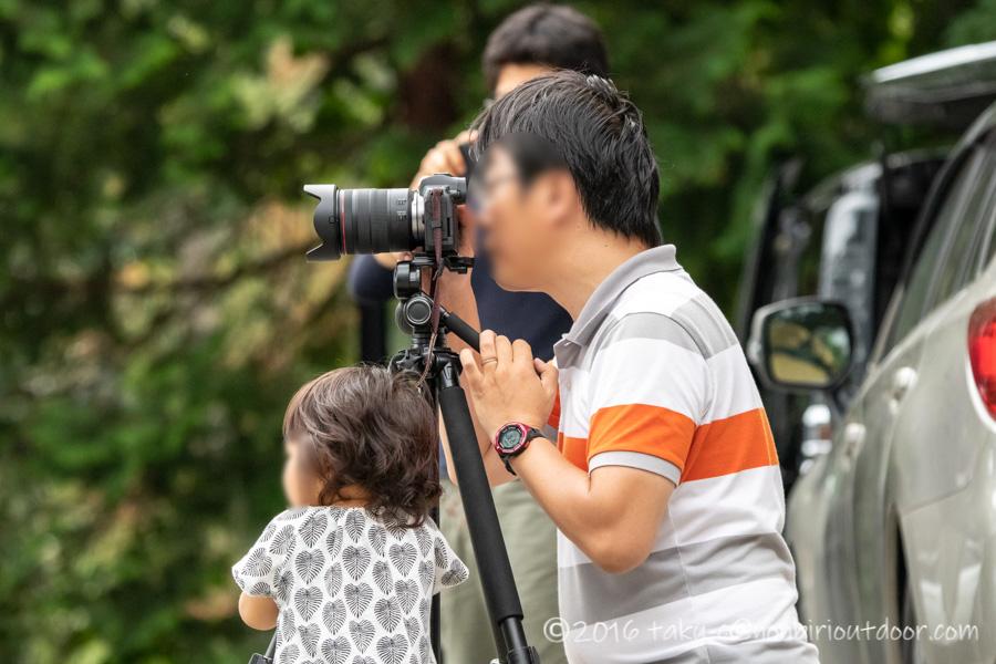 青木湖でのSUP・カヤックキャンプの記念撮影