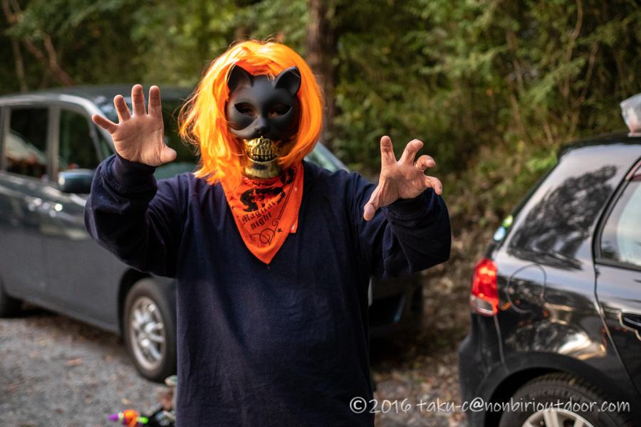 赤城オートキャンプ場のハロウィンキャンプの仮装
