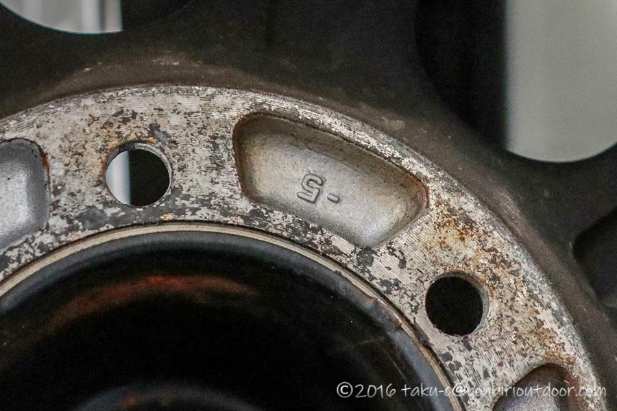 78プラドナローのホイルはジムライン 16インチ 6.5J OFFSET-5