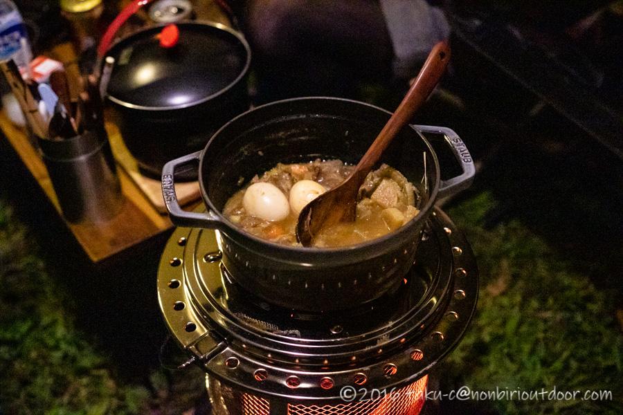 富士山YMCAで行われた第3回ナチュログ写真部合宿の料理