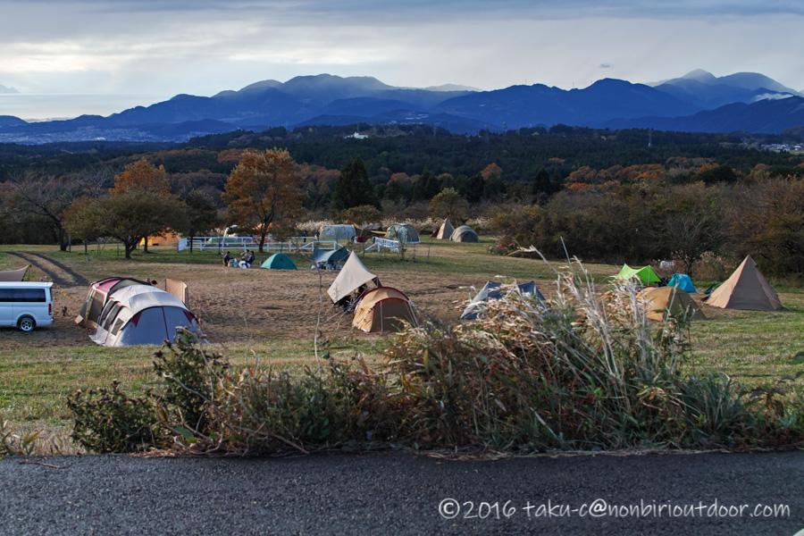 富士山YMCAの朝の風景