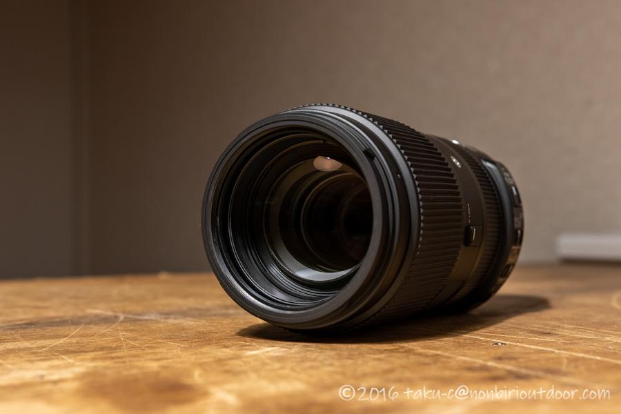 SIGMA 望遠ズームレンズ Contemporary 100-400mm F5-6.3の外観