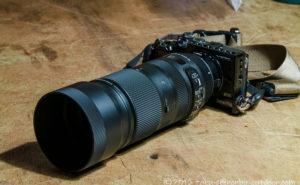 SIGMA 望遠ズームレンズ Contemporary 100-400mm F5-6.3をEOS M6に付ける