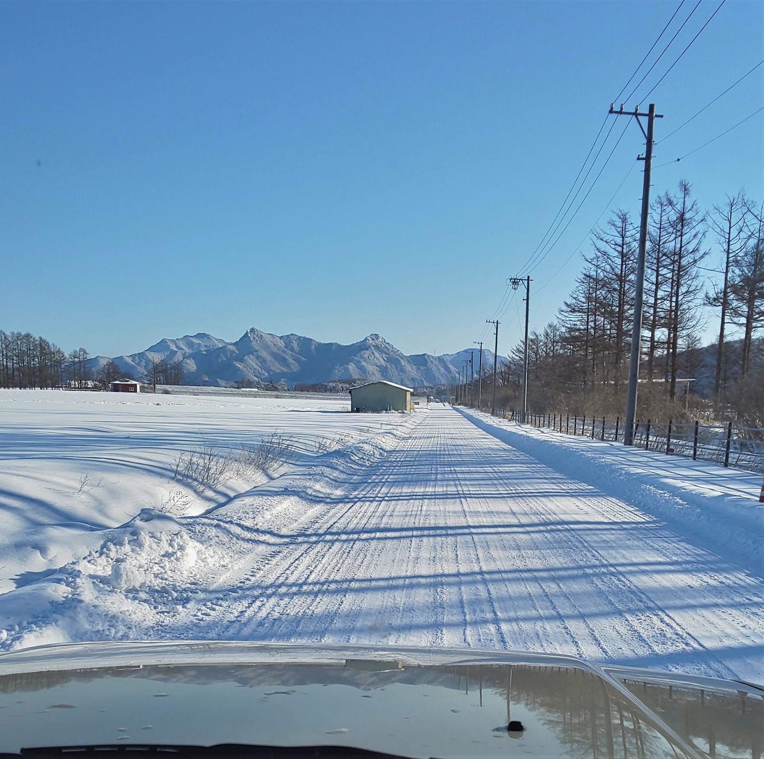 おっさん雪中キャンプの1週間前の景色
