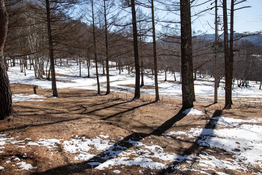 おっさん雪中キャンプの周り
