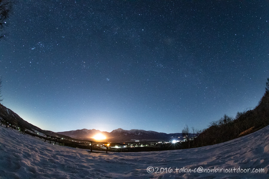 おっさんだけで行った五光牧場オートキャンプ場での星空と八ヶ岳